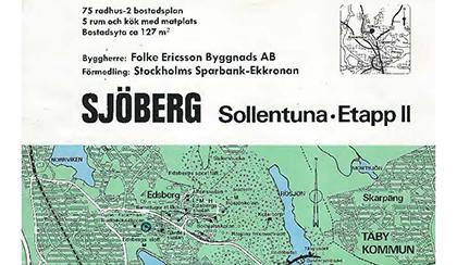 Prospekt från nybyggnation 1972-1974
